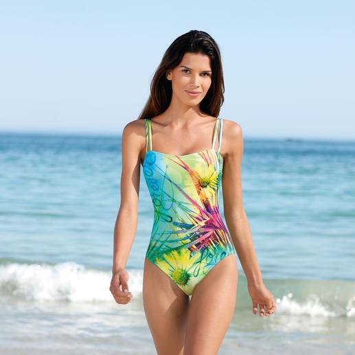 SunSelect®-Badeanzug Blumenwiese Dieser Badeanzug wirkt wie eine gute Sonnencreme.