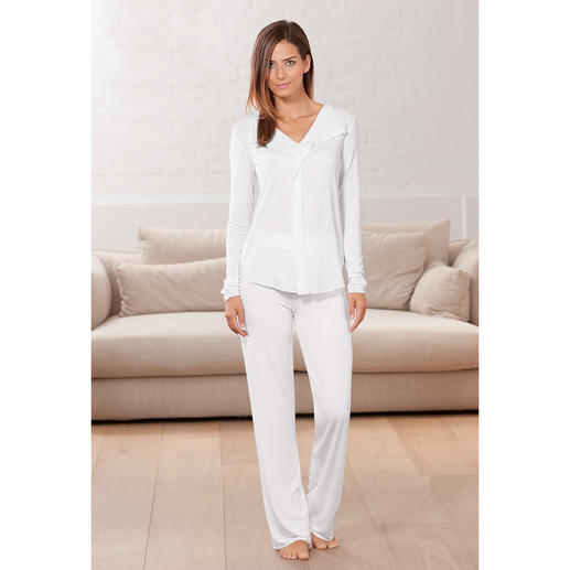 MicroModal® Couture-Pyjama Couture-Chic für die Nacht.
