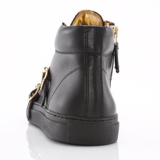Pantofola d'Oro Sneaker So edel kann ein Sneaker sein. Feinstes Kalbleder, rahmengenäht in Italien. Von Pantofola D'Oro.