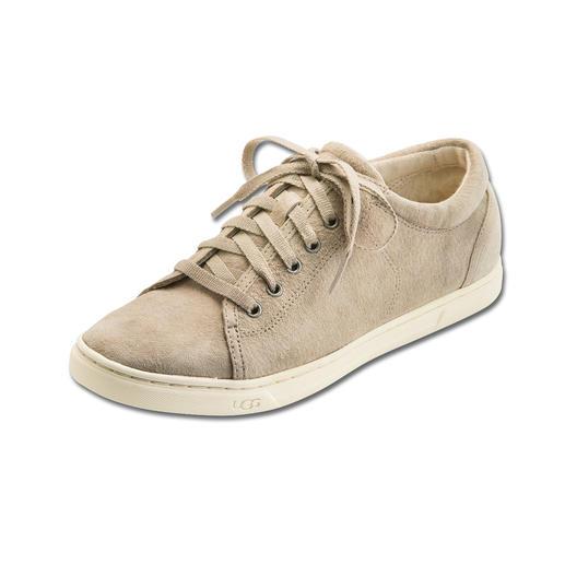 UGG® Lammfell-Sneaker Der Renner aus Down Under erobert Europas Strassen: die Lammfell-Sneakers der Kultmarke UGG® Australia.