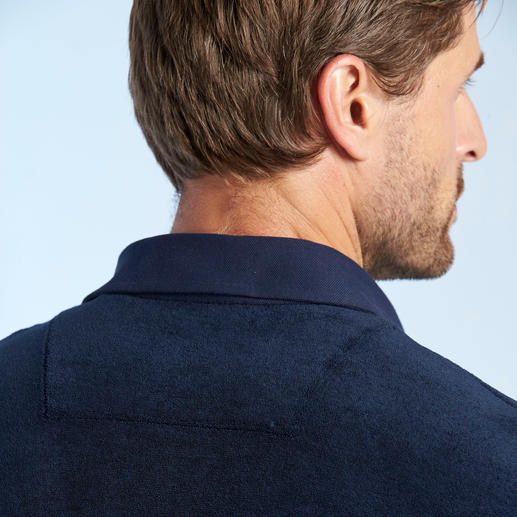van Laack Frottee-Polo So stilvoll kann ein flauschig weiches Frottee-Shirt sein. Von van Laack, Hemdenspezialist seit 1881.