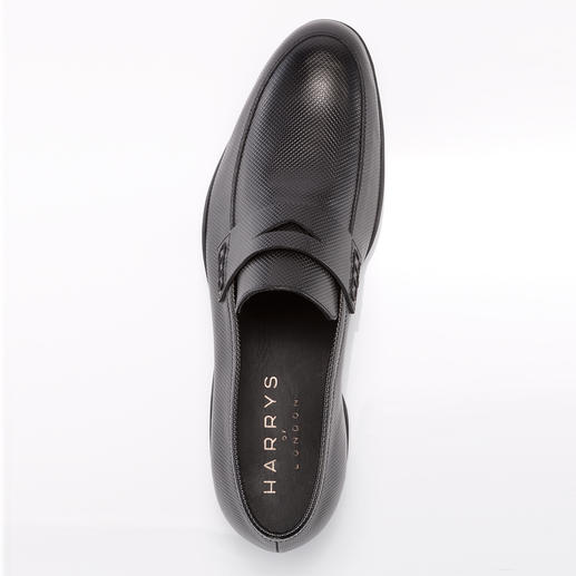 Harrys of London Check Print-Loafer Ein stilvoller Freizeit-Loafer – aber rutschfest wie ein Surfer-Schuh. Von Harrys of London.