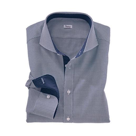 """Ingram Jacquard-Hemd """"Krawattendessin"""" Das aussergewöhnlich plastische, dreidimensionale unter den aktuellen Krawattendessins."""