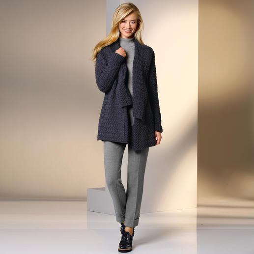 """Seductive Businesshose Blended Wool Die Optik einer Tuchhose. Aber unkomplizierter dank """"Blended Wool"""": Weich. Elastisch. Und maschinenwaschbar."""