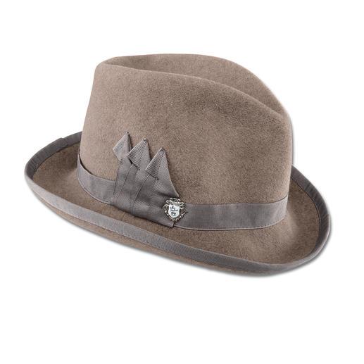 Ellen Paulssen Homburg Der Homburg. Einst Hut berühmter Männer. Jetzt für modebewusste Damen neu interpretiert.