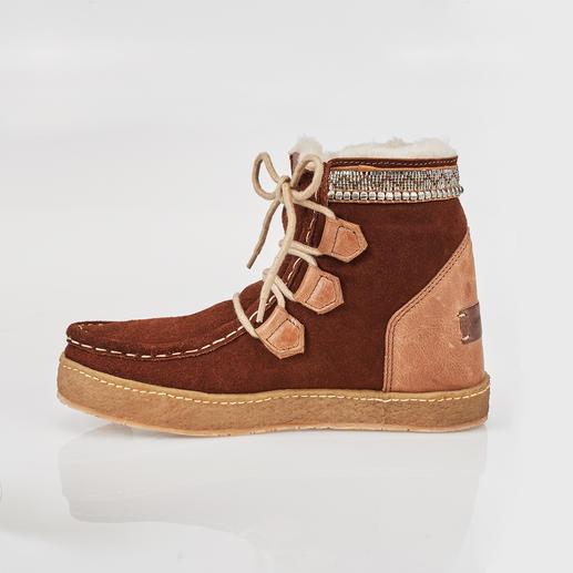 laidbacklondon Ethno-Boots Trend-Boots im Ethno-Stil, traditionell handgefertigt. Von laidbacklondon.