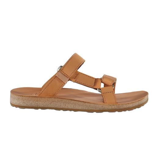 Teva® Damen- oder Herren-Flats Vom Trecking-Schuh zum edlen Fashion-Flat aus Leder. Von Teva®, dem amerikanischen Outdoor-Spezialisten.