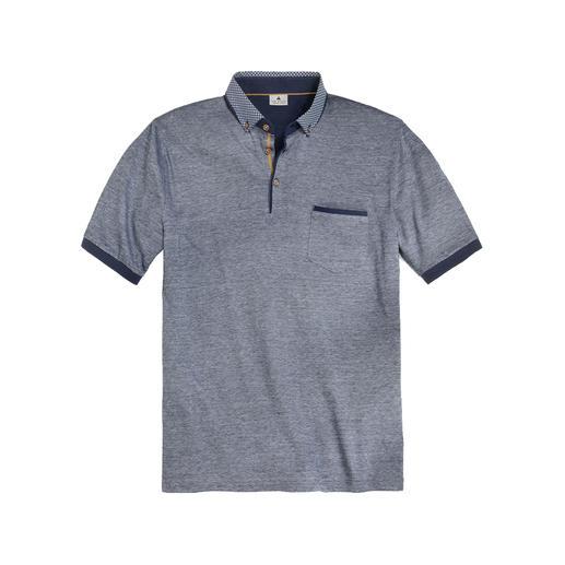 Gentleman-Polo Viel eleganter als die meisten Poloshirts – und sogar Sakko-tauglich.