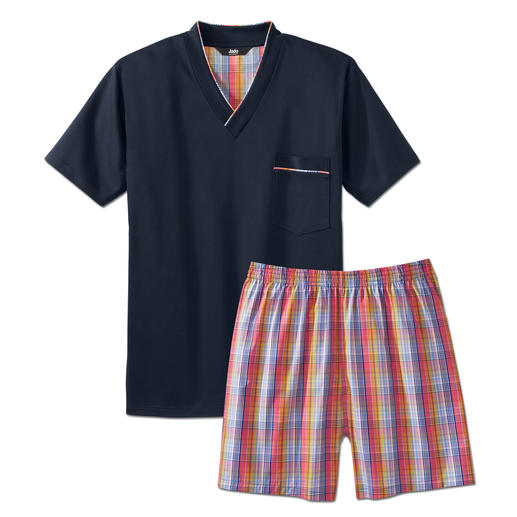 Lieblings-Pyjama No. 22 Ihr Lieblings-Pyjama – nur 89.- Fr.? Reine Baumwolle, sauber verarbeitet, made in Germany.
