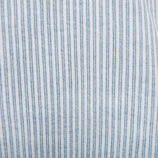Magic-Streifenjeans Die figurformende Magic-Jeans in neuer 7/8-Länge und sommerfrischem Streifen-Dessin.
