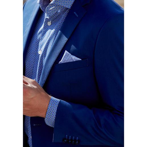 """Carl Gross Baumwoll-Anzug """"Ceramica"""", Blau Der ideale Anzug für Business und Reise: sommerliches Baumwoll-Tuch – und doch kaum Knitter."""