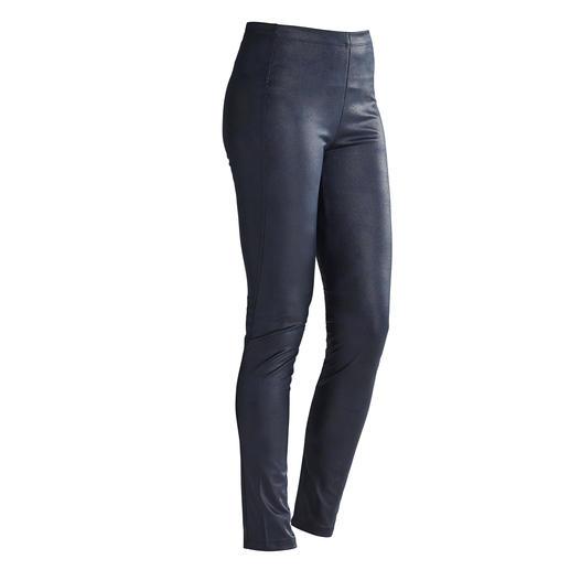 Janice & Jo Leggings faux cuir Luxus-Kunstleder-Leggings vom Spezialisten und Trendlabel: Janice & Jo, Frankreich.
