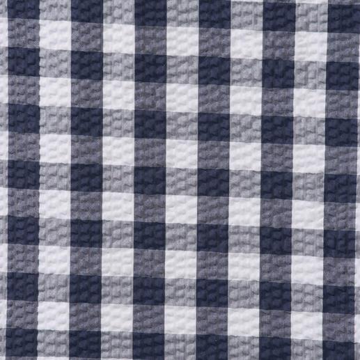Ingram Seersucker-Karo-Hemd Luftiges Seersucker-Gewebe. Klassisches Karo-Muster. Das perfekte Sommerhemd zu Smart-Casual-Outfits.