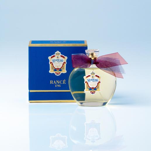 Rancé Eau de Parfum Hortense 1810 Königin Hortense von Holland gewidmet. Noch heute originalgetreu gefertigt. Eine Parfum-Rarität von Rancé.