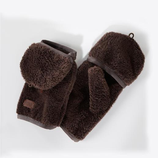 Aigle Polartec®-Mütze oder -Fäustlinge Viel wärmer und leichter als herkömmliche Fleece-Accessoires.