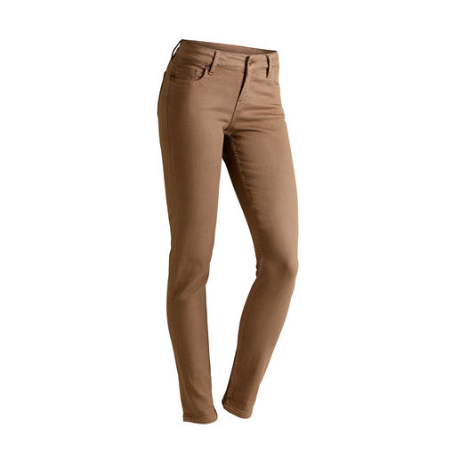 "Strenesse Business-Jeans ""Camel"" Aktueller Camel-Ton. Cleaner Schnitt. Perfekte Passform. Von Strenesse."