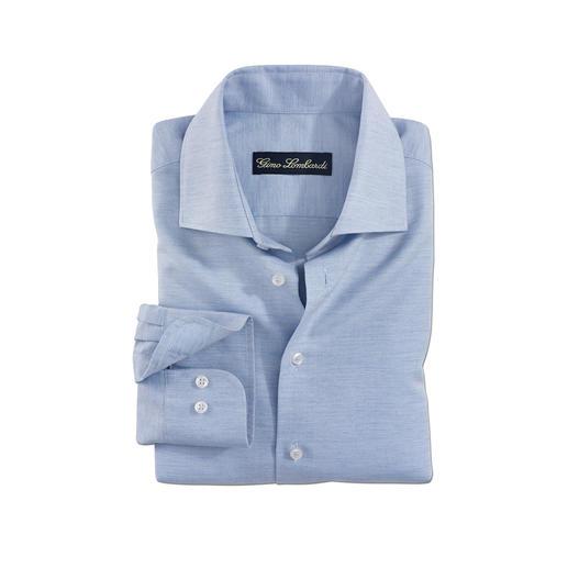 Woll-Seiden-Hemd - Das Winterhemd mit Wolle und Seide: Angenehm wärmend. Wunderbar weich. Elegant und sogar Business-korrekt.