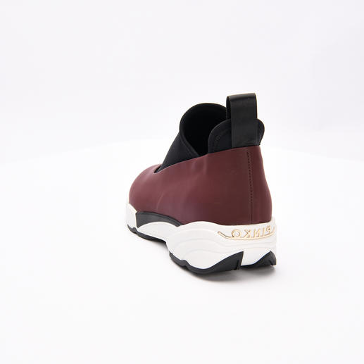 Pinko-Sneaker Magnolia, Bordeaux Der nächste grosse Sneaker-Coup kommt aus Italien. Von Pinko.