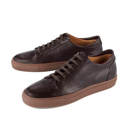 Bernacchini 1905 Kalbleder-Sneaker Aktuelle Retro-Form. Softes Kalbleder. Made in Italy. Bezahlbarer Luxus von Bernacchini 1905.