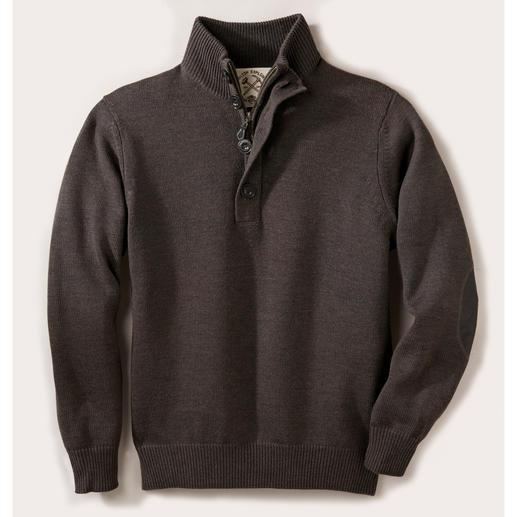 Alan Paine Teflon®-Outdoor-Pullover Reine Merinowolle, wasserabweisend durch dauerhaften Teflon®-Schutz. Der ideale Pullover für drinnen und draussen.