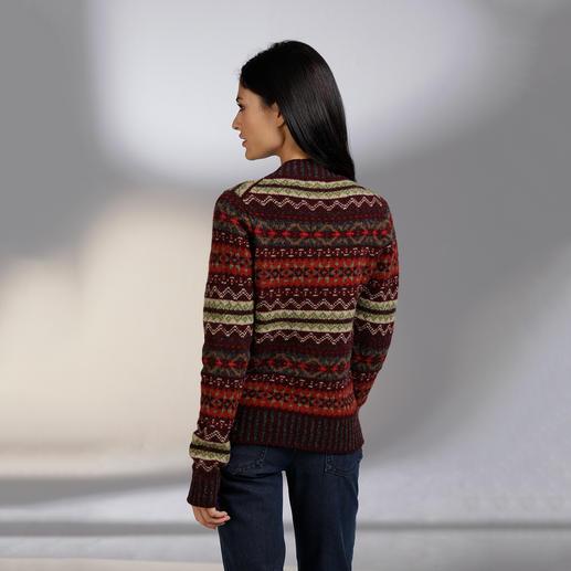 Eribé Fair-Isle-Damenpullover Der original Fair-Isle-Pullover: Niemals aus der Mode- und doch so schwer zu finden. Aus echter Shetland-Wolle.