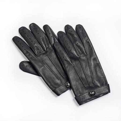 Dents Gentleman-Handschuhe An Dents-Handschuhen erkennt man den Gentleman. Feinste Lederhandschuhe aus Grossbritannien, seit 1777.