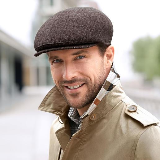 Mayser Schiebermütze Michael Zechbauer Mode-Comeback der Schiebermütze. Tragen Sie den Trend-Look in bewährter Qualität und Passform.