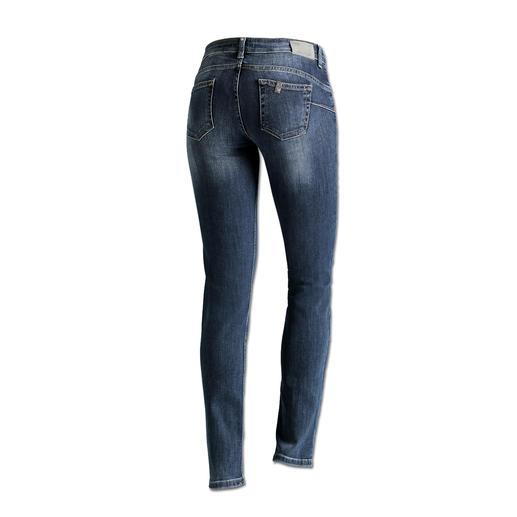 """Liu Jo Jeans """"Bottom up"""", slim leg - Kaum eine Jeans lässt Ihren Po knackiger aussehen als die """"Bottom up"""" von Liu Jo Jeans, Italien."""