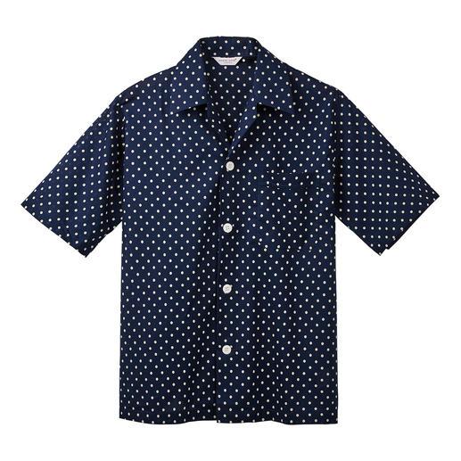 Der Winston-Pyjama mit edlen Tupfen, schmeichelhaft modisch und seriös zugleich. Der seidig schimmernde, feine Baumwoll-Batist ist federleicht, kühlend und lässt die Haut atmen.