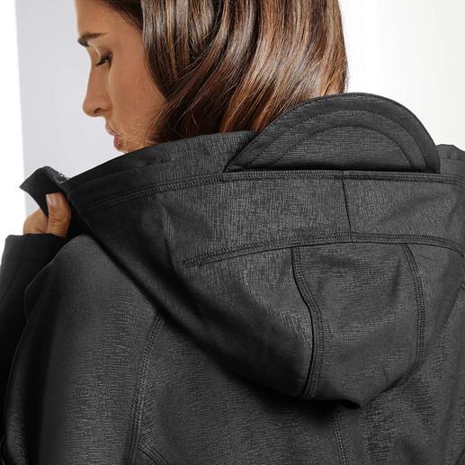 Ilse Jacobsen Softshell-Raincoat Wasser- und winddichtes, atmungsaktives Soft Shell-Material. Dänisches Design. Von Ilse Jacobsen.
