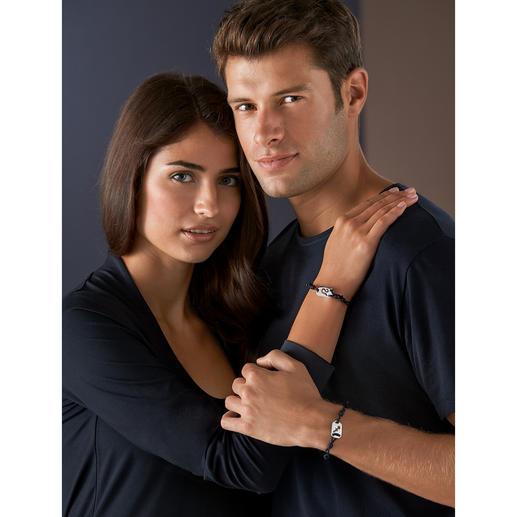 Tateossian Sternzeichen-Armband Individuell, puristisch und zeitlos: das neue Design Ihres Sternzeichens. Mit echten Hallmarks. Für Damen und Herren.