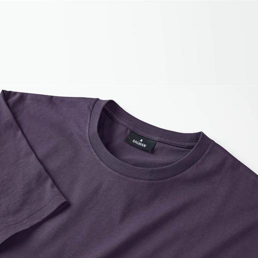 Das 155 g-Ragman für Herren und Kinder Ihr wichtigstes T-Shirt: Südamerikanische Baumwolle. 155 g/qm. Das seltene von Ragman.