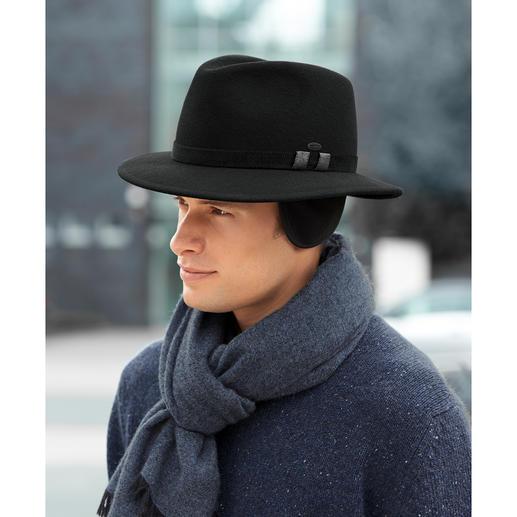 Mayser-Winterhut Stilvoll wie ein Hut, aber wärmend wie eine Mütze. Von Mayser, deutsche Hutmacherkunst seit 1800.