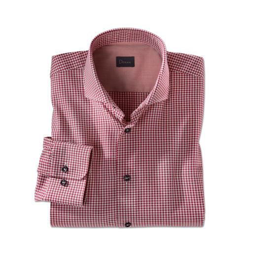 Dorani Light Flanell-Hemd, Bordeaux Weich und wärmend wie Flanell – aber viel leichter, feiner und kombinierfreudiger.
