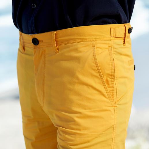 Aigle Outdoor-Bermudas Klimaaktiv und UV-geschützt. Schlank geschnitten und mit viel Stauraum.