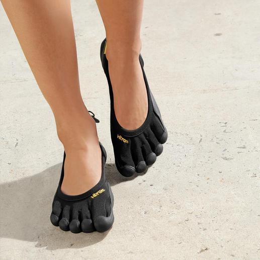Damen-Outdoor-FiveFingers® So gesund und entspannend wie Barfusslaufen, aber ohne Verletzungen und schmutzige Füsse.