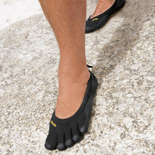 Herren-Outdoor-FiveFingers® So gesund und entspannend wie Barfusslaufen, aber ohne Verletzungen und schmutzige Füsse.