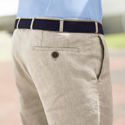 Hoal Business-Leinenhose Weich fliessend, knitter- und bügelarm - die Business-Leinenhose von HOAL.