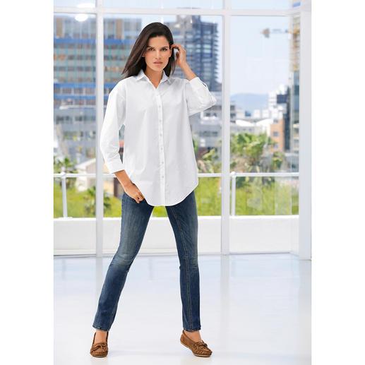 van Laack Oversize-Bluse Modetrend Oversize-Bluse – erstaunlich feminin und elegant.