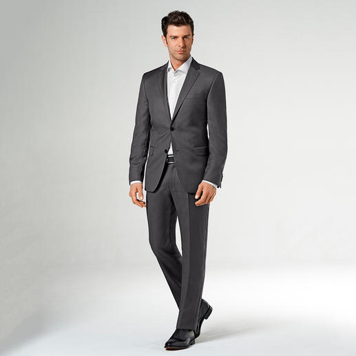 Lagerfeld-Woll-Seiden-Anzug Edles Tuch mit Seide. Modisches Muster. Original Lagerfeld. Und doch nur 629.- Franken.