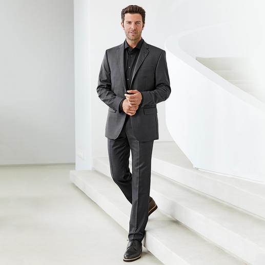 Dorani Coolmax®-Business-Hemd Ihr modisch schwarzes Hemd für den Sommer: Sie spüren das Tragegefühl von Baumwolle. Sie geniessen den Klima-Komfort von Coolmax®.