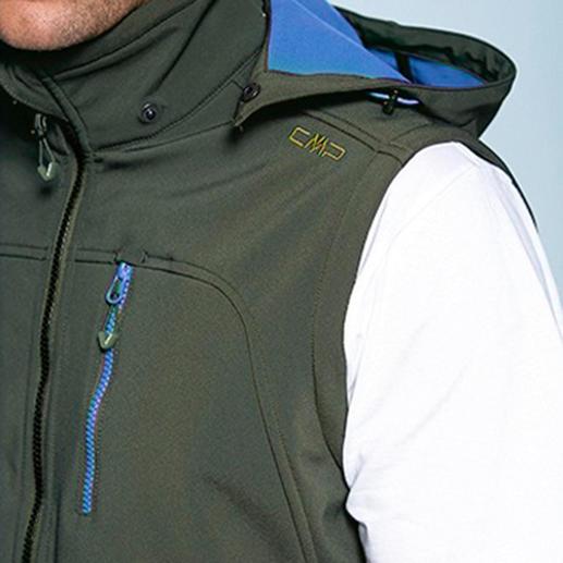 Soft Shell-Jacke für Herren Die Soft Shell-Jacke mit WindProtect®. Schlank, leicht und trotzdem warm.