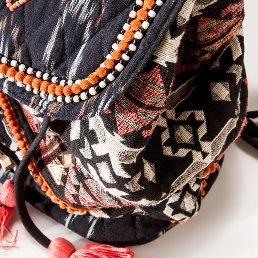 Smitten Ethno-Rucksack Der authentische unter den angesagten Ethno-Rucksäcken. Kunstvoll von Hand gefertigt. Von Smitten.