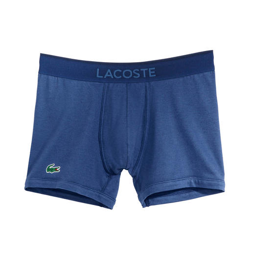 Lacoste Herren-Pants Zeitgemäss farbige Herren-Pants. Vom Kultlabel und Spezialisten für farbigen Baumwoll-Piqué: Lacoste, Frankreich.