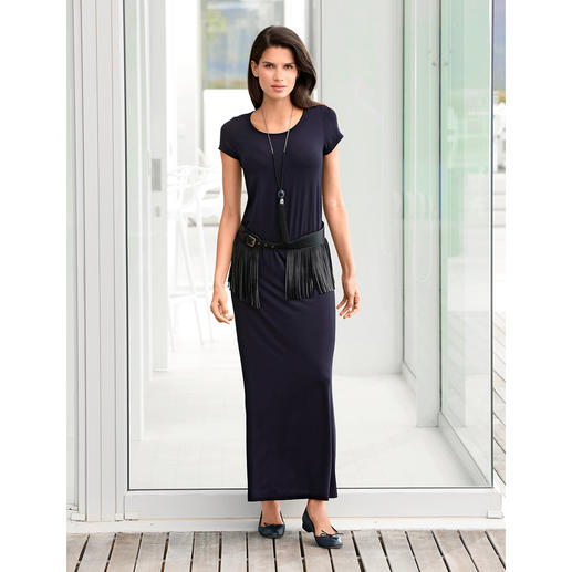 SLY010 Leder-Fransen-Gürtel Macht aus jedem Outfit einen Hingucker: der Gürtel für viele modische Fransen-Looks.