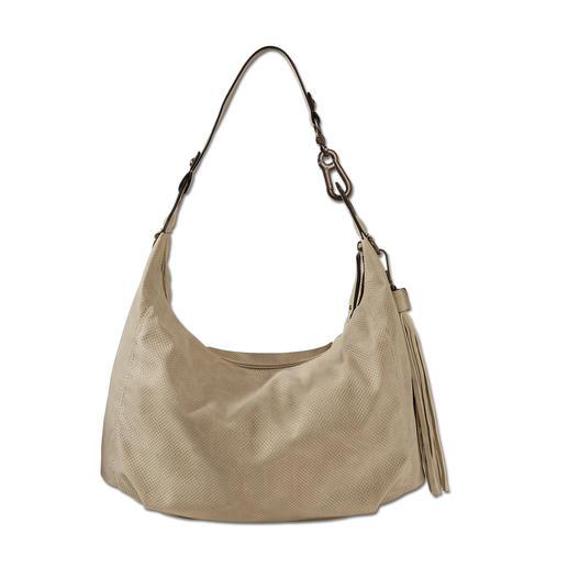 Suri Frey Hobo Bag Stone Edel und knautschweich wie Leder. Die modische Hobo Bag zu einem sehr angenehmen Preis.