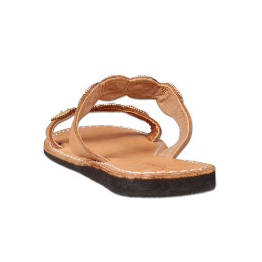 laidbacklondon Ethno-Flats Traditionelles afrikanisches Kunsthandwerk: der Schuh-Trend des Sommers.
