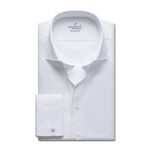 """van Laack """"Royal"""": Alles, was Sie von einem Premium-Hemd erwarten. Beste Baumwolle. Erstklassige Verarbeitung. Bügelleichte Ausrüstung."""