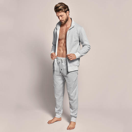Zimmerli Doubleface-Homesuit So stilvoll kann ein bequemer Homesuit sein. Aus weich mercerisiertem Doubleface-Piqué. Von Zimmerli.