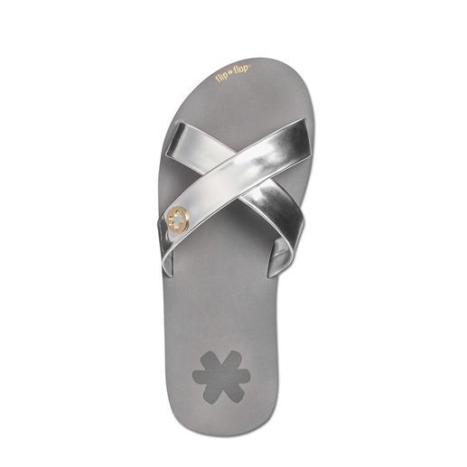 flip*flop® Cross-Pantolette Der Tragekomfort echter Flip Flops – aber viel eleganter.